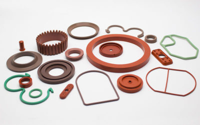Rubber parts for pumps and valves