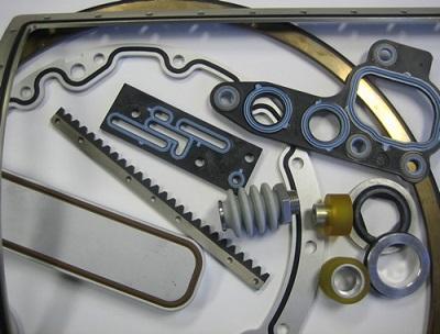 橡胶与金属硫化结合